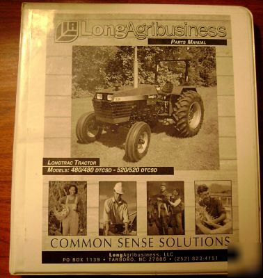 Long longtrac 480 to 520 dtcsd tractor parts catalog