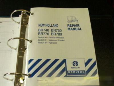 New Holland Br740 Br750 Br770 Br780 Service Manual border=