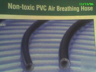 Air breathing hose pvc non-toxic 1/2