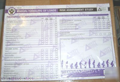 Health & safety - manual handling of loans ass form doc