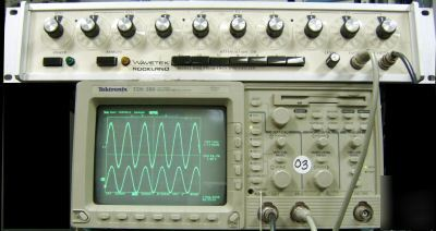 Wavetek 5100 frequency synthesizer, calibrated