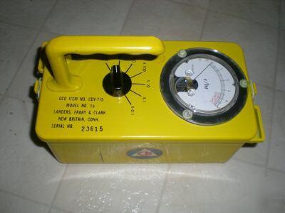 New 1 geiger counter cdv-715 radiation survey meter