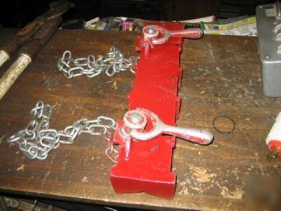 The Tool Store >> Jewel / ridgid straight pipe welding clamp