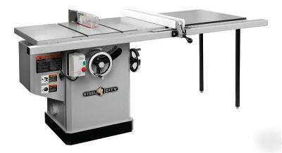 Steel City Tool Works 35626 10 5hp Table Saw W Fence
