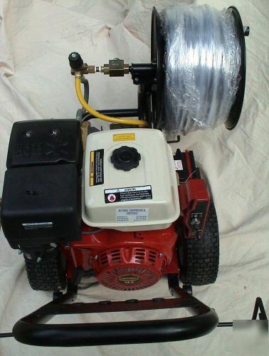 water jetter drain cleaning machine
