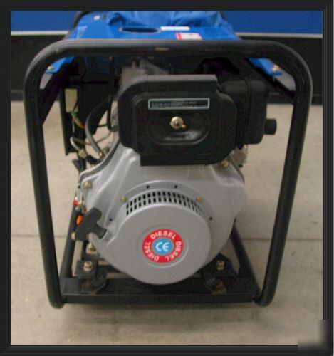 Light Shop Dublin Industrial Estate: Super Quiet 78DB 4-stroke 6500 Watt Diesel Generator