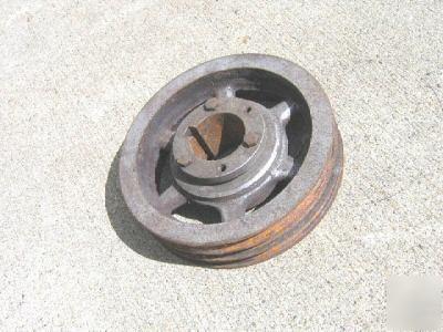 10 Motor Pully Sheave V 3 Belt Pulley Dodge Taper Lock