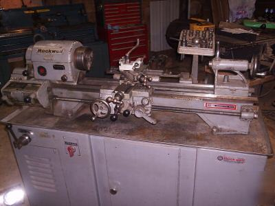 Local Market Tool >> Delta rockwell 10X25 metal turning lathe