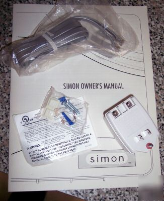 Ge Simon Iti Wireless Alarm System V2 Cpu 2way Voice