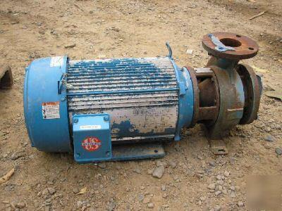 Ingersoll-dresser pump D824 size 4X3X6F 20 hp 3525 rpm