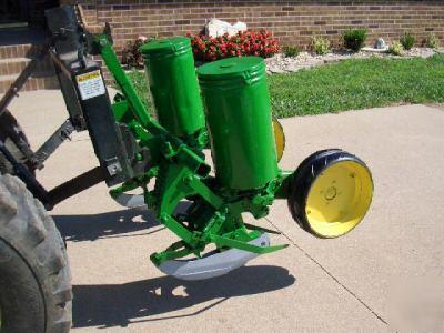 John Deere Two Row Planter Model 71 Flex Food Plots